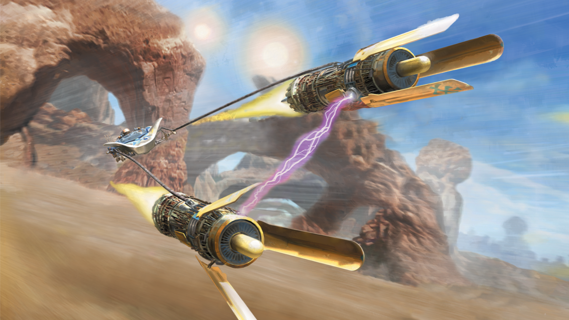 This is podracing