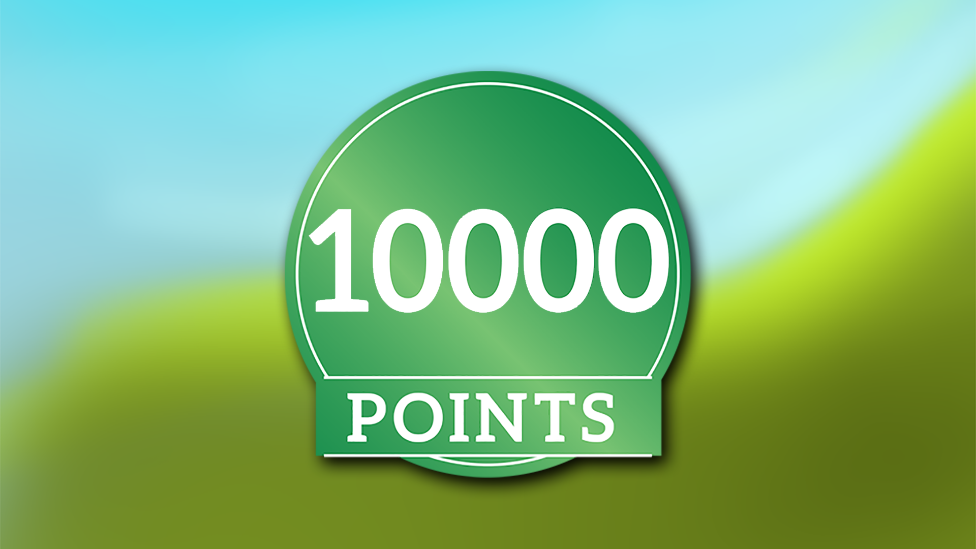 Icon for First 10000p.