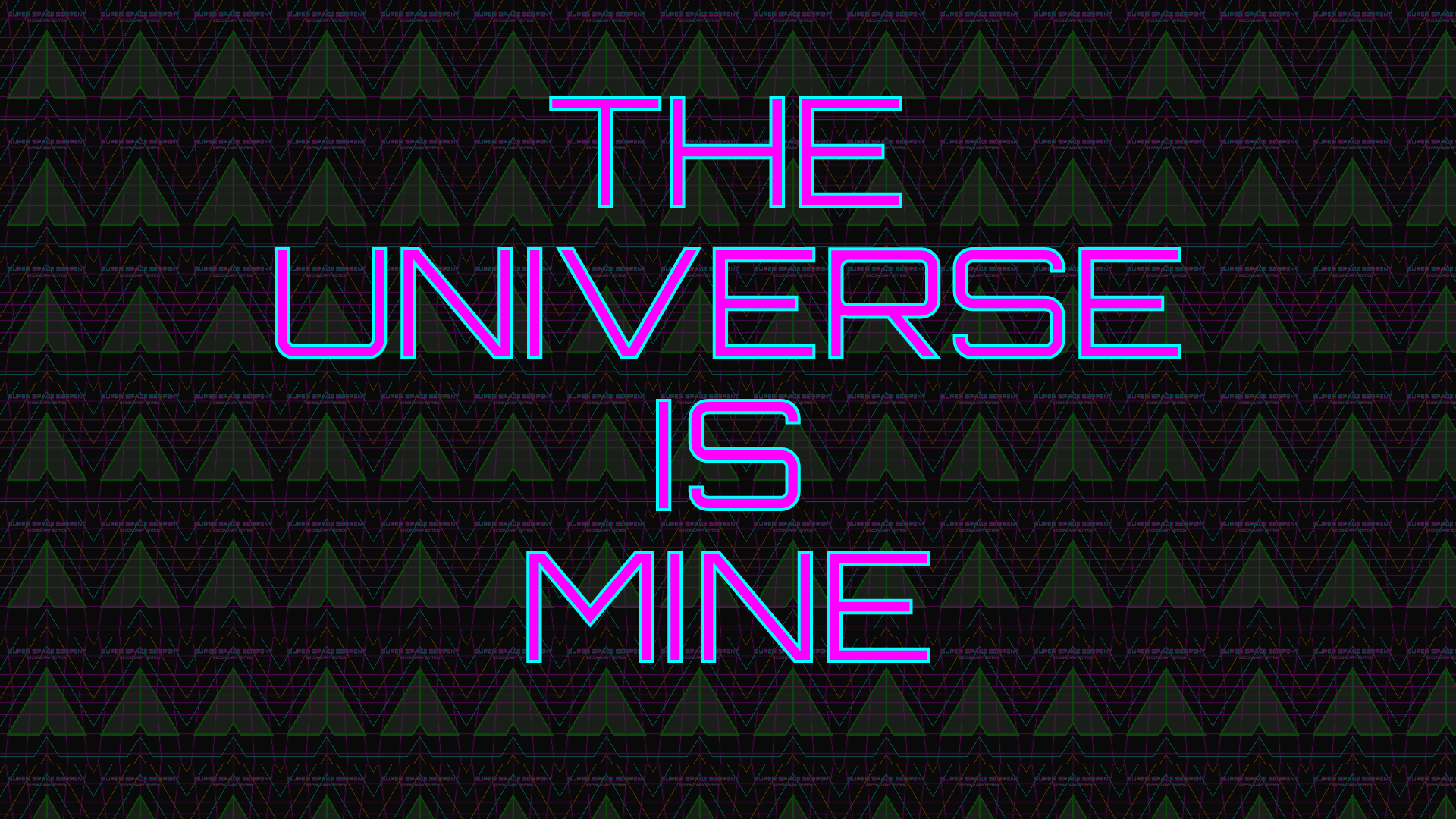 Icon for This universe is mine