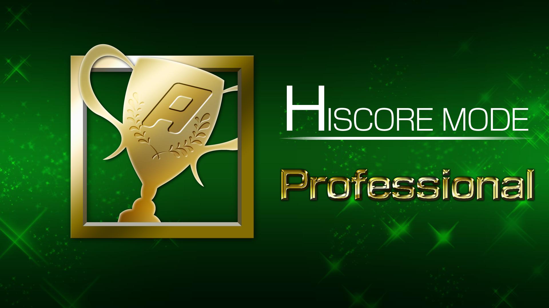 Icon for HI SCORE MODE 6 win(s)