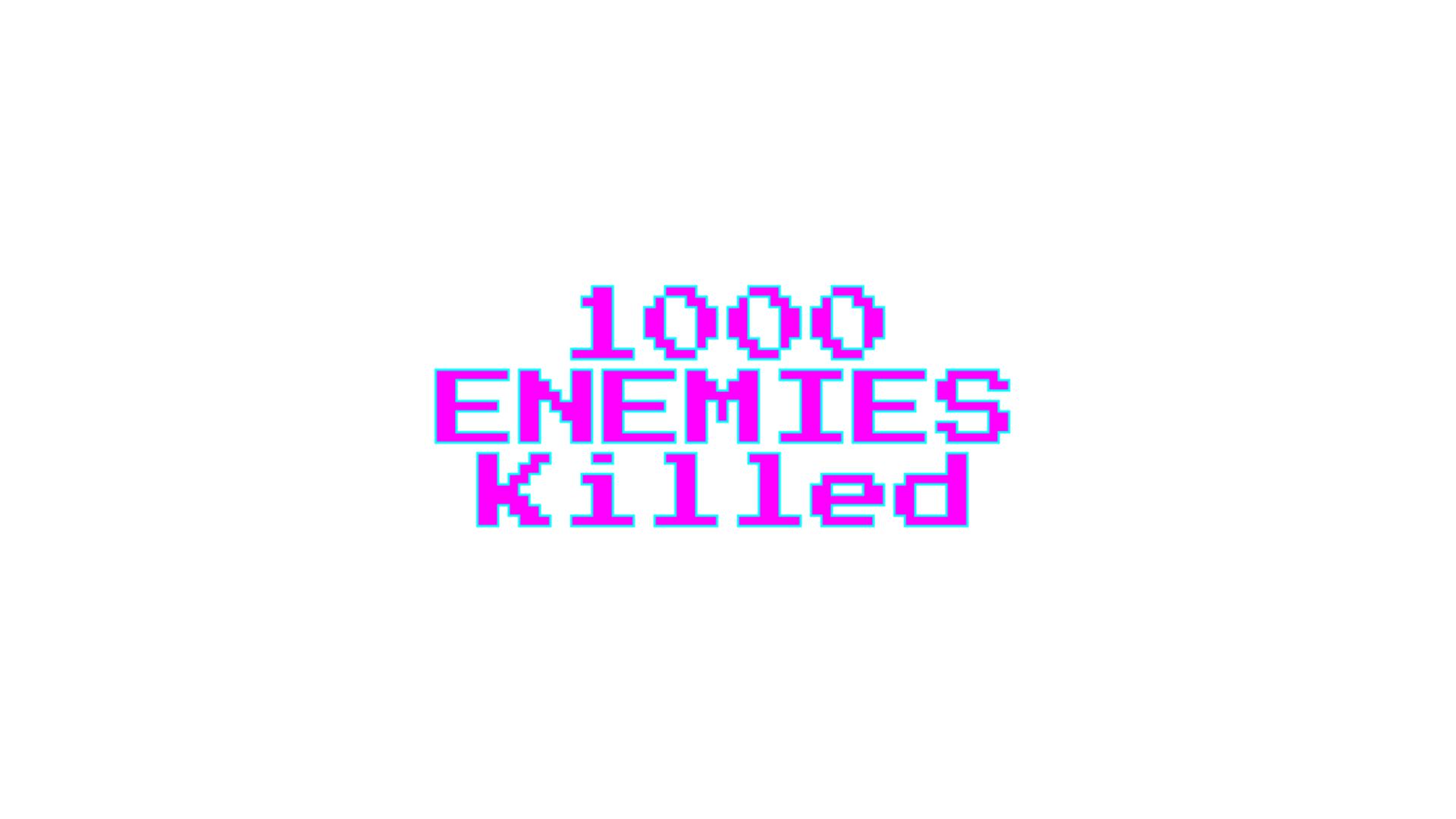 Icon for 1000 kill's