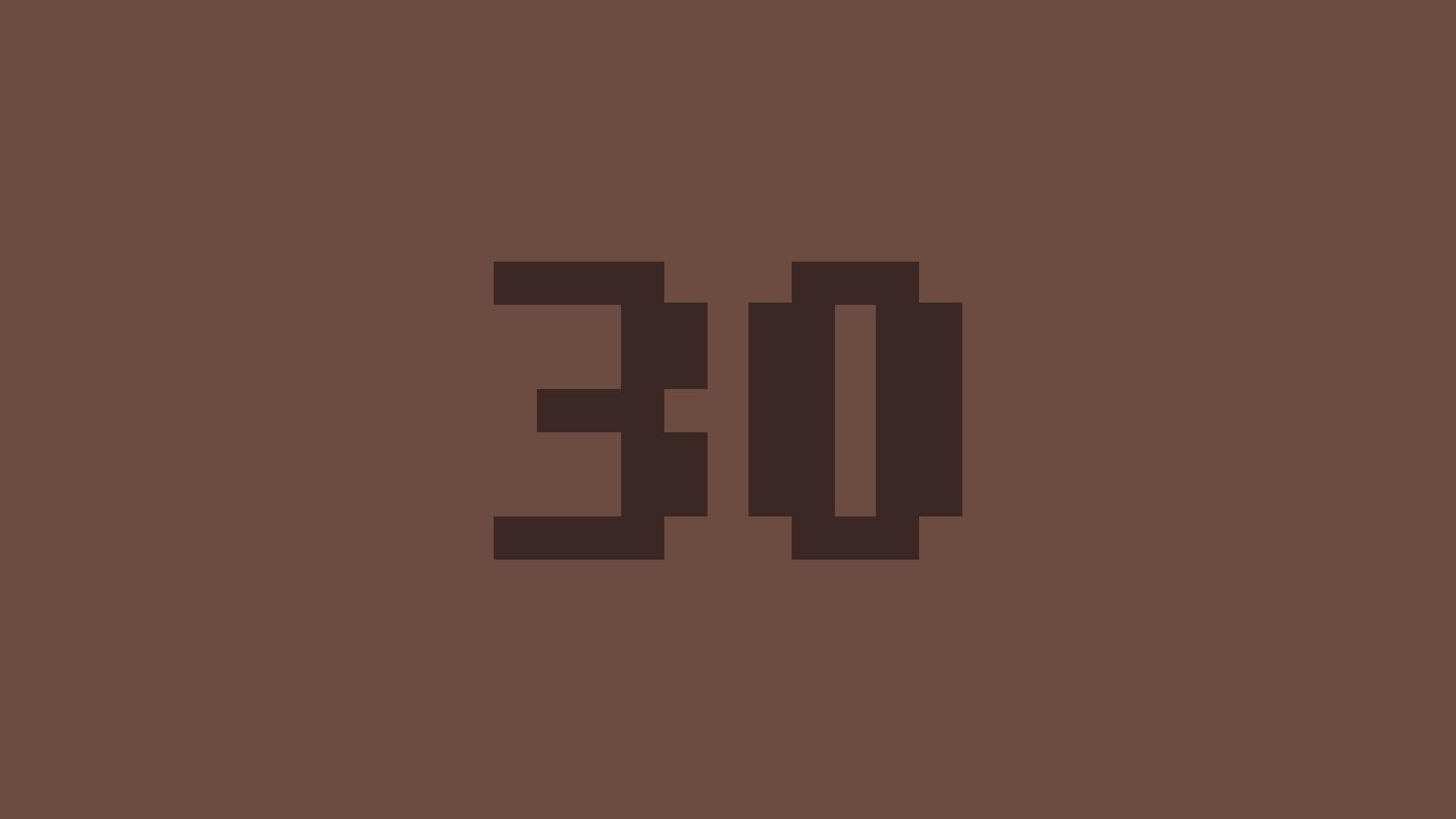 Level 30!