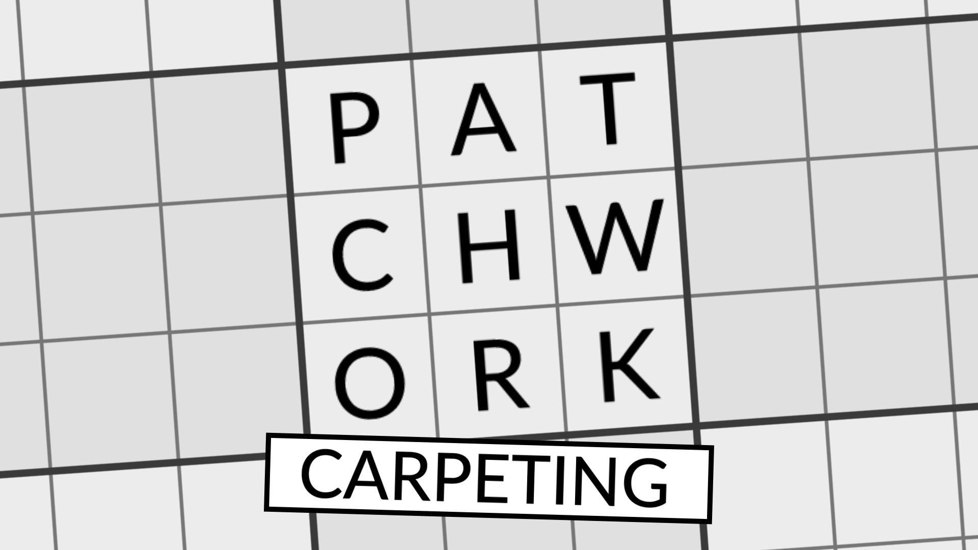 Patchwork Carpeting