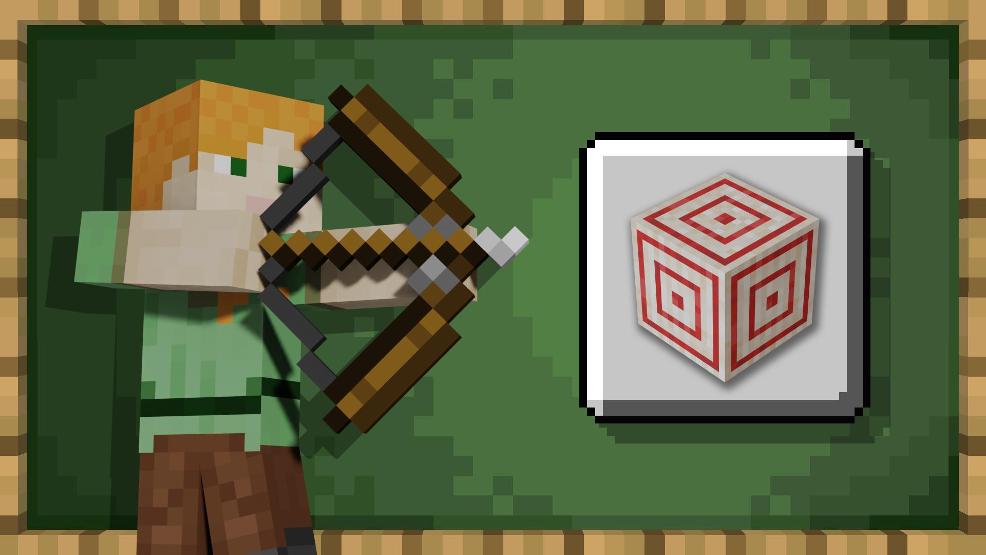 Bullseye achievement for Minecraft on Windows Phone