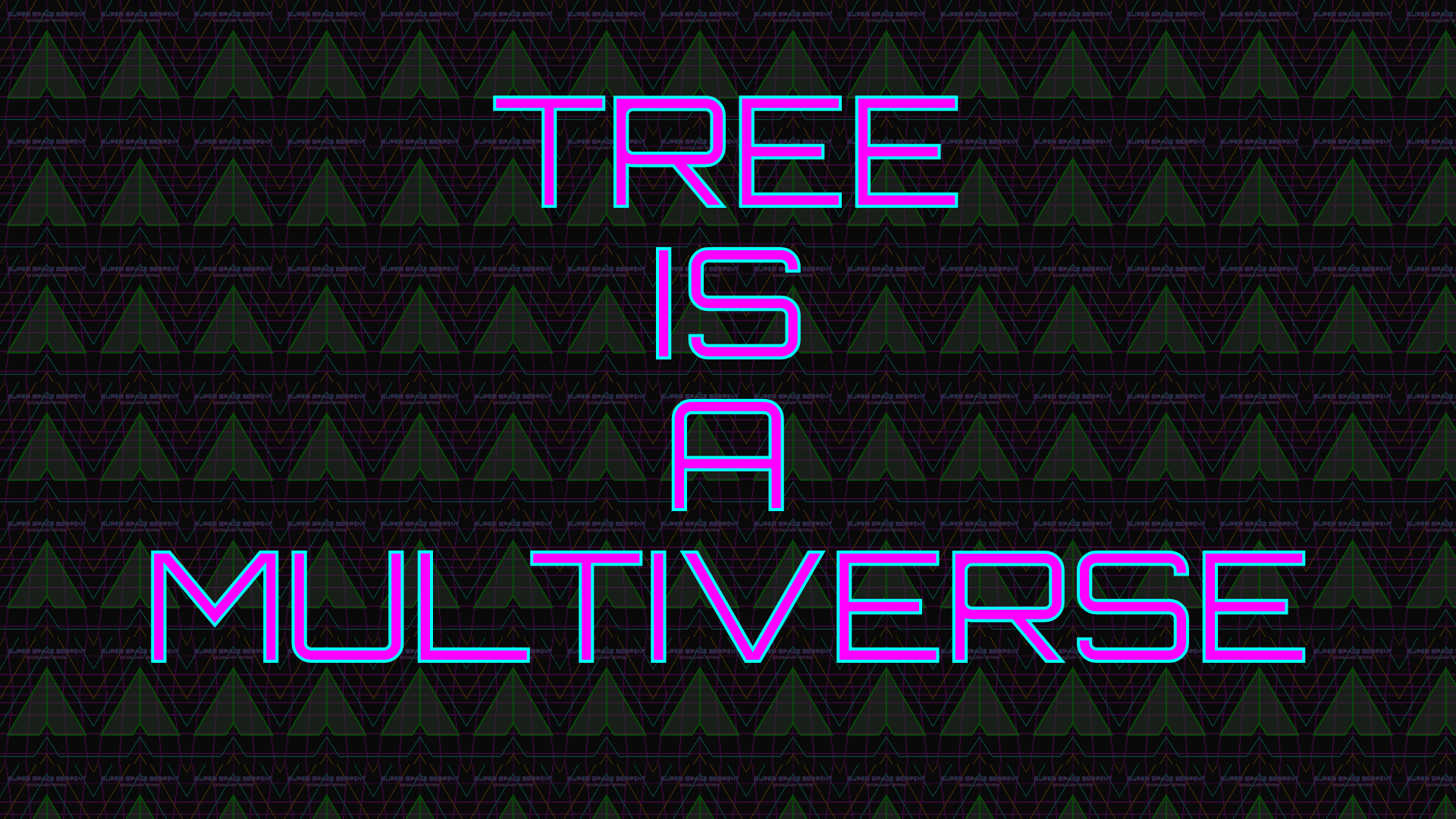 Icon for Tree is a multiverse