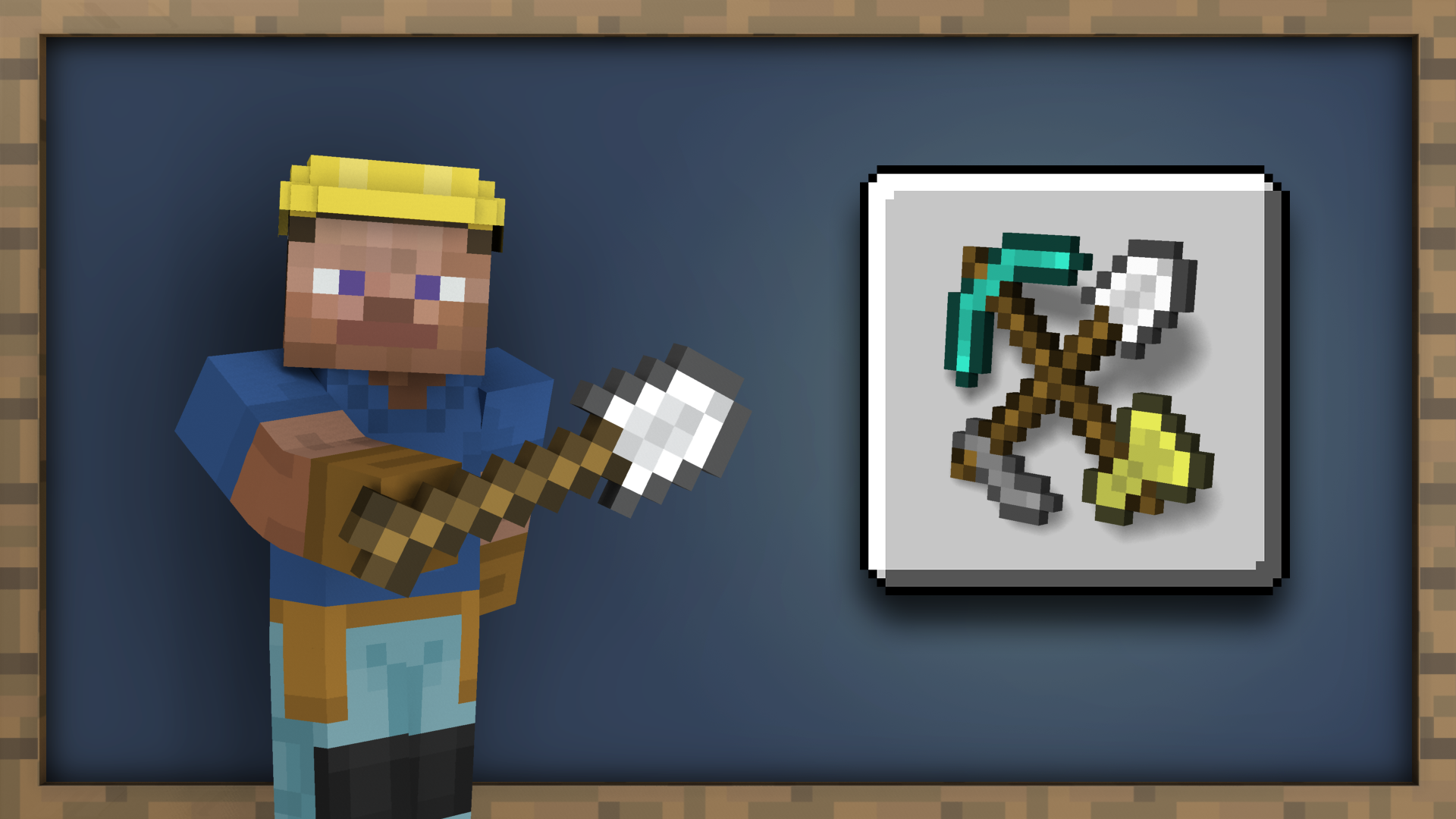 MOAR Tools achievement for Minecraft on Nintendo Switch