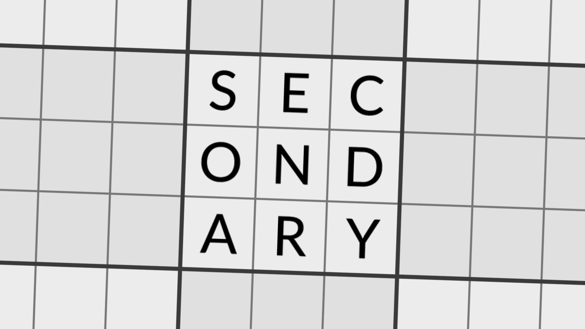 Secondary Level