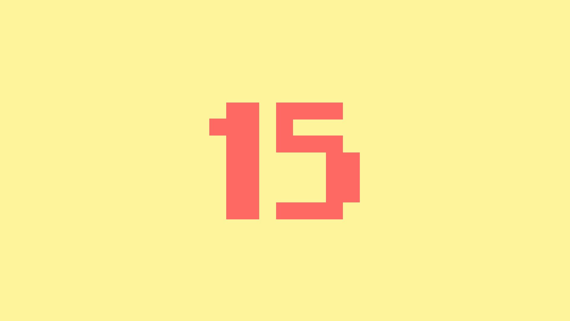 Level 15!