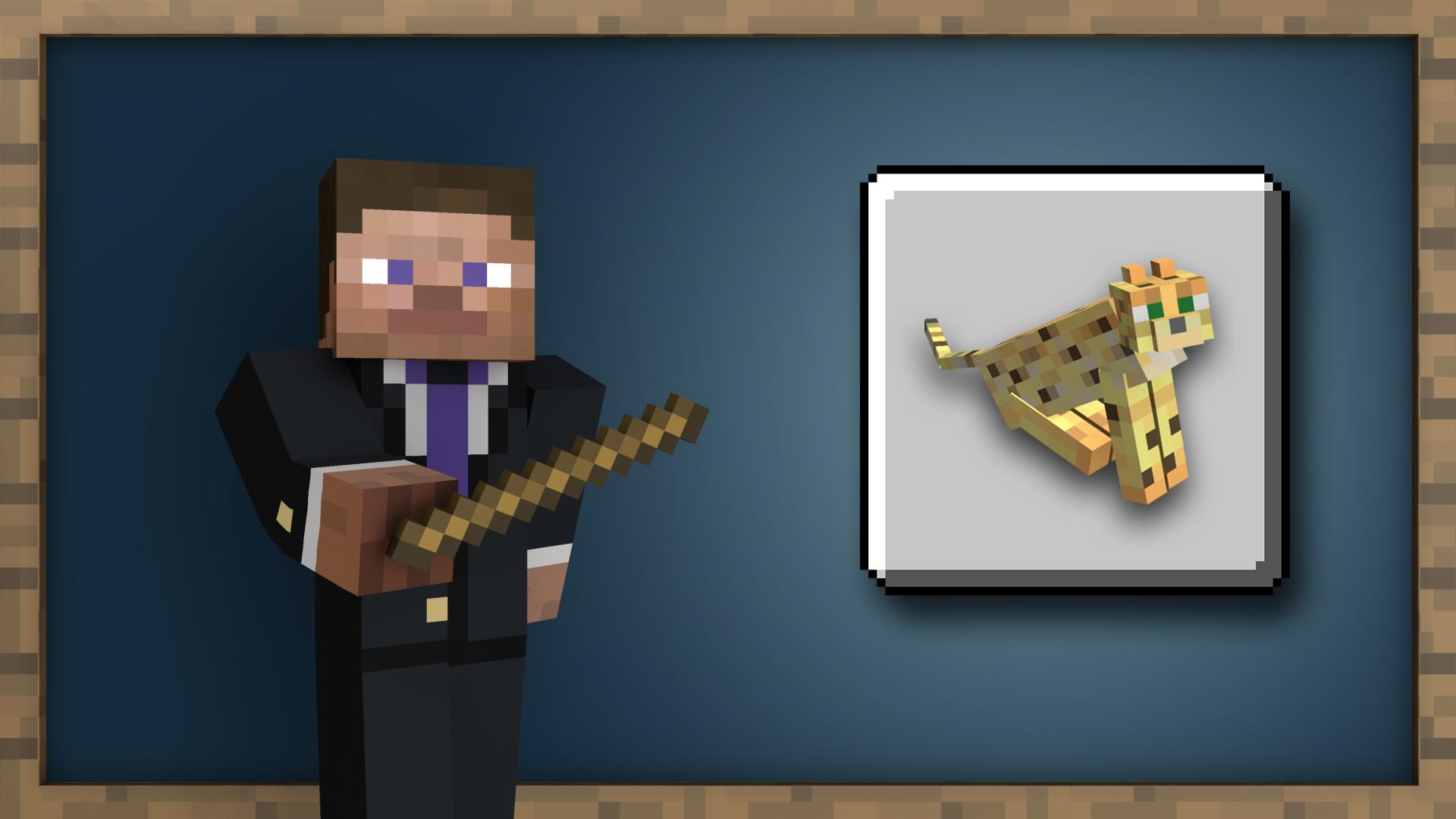 Lion Tamer achievement for Minecraft on Nintendo Switch