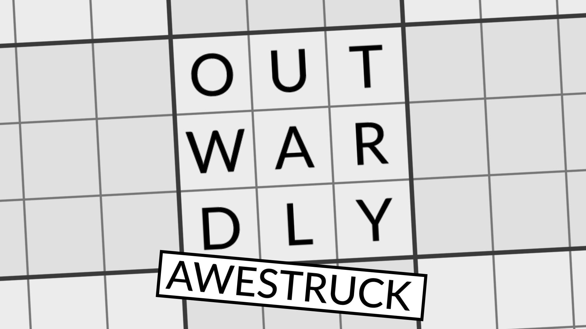 Outwardly Awestruck