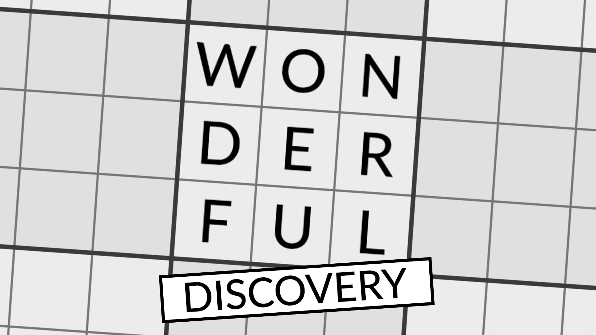 A Wonderful Discovery