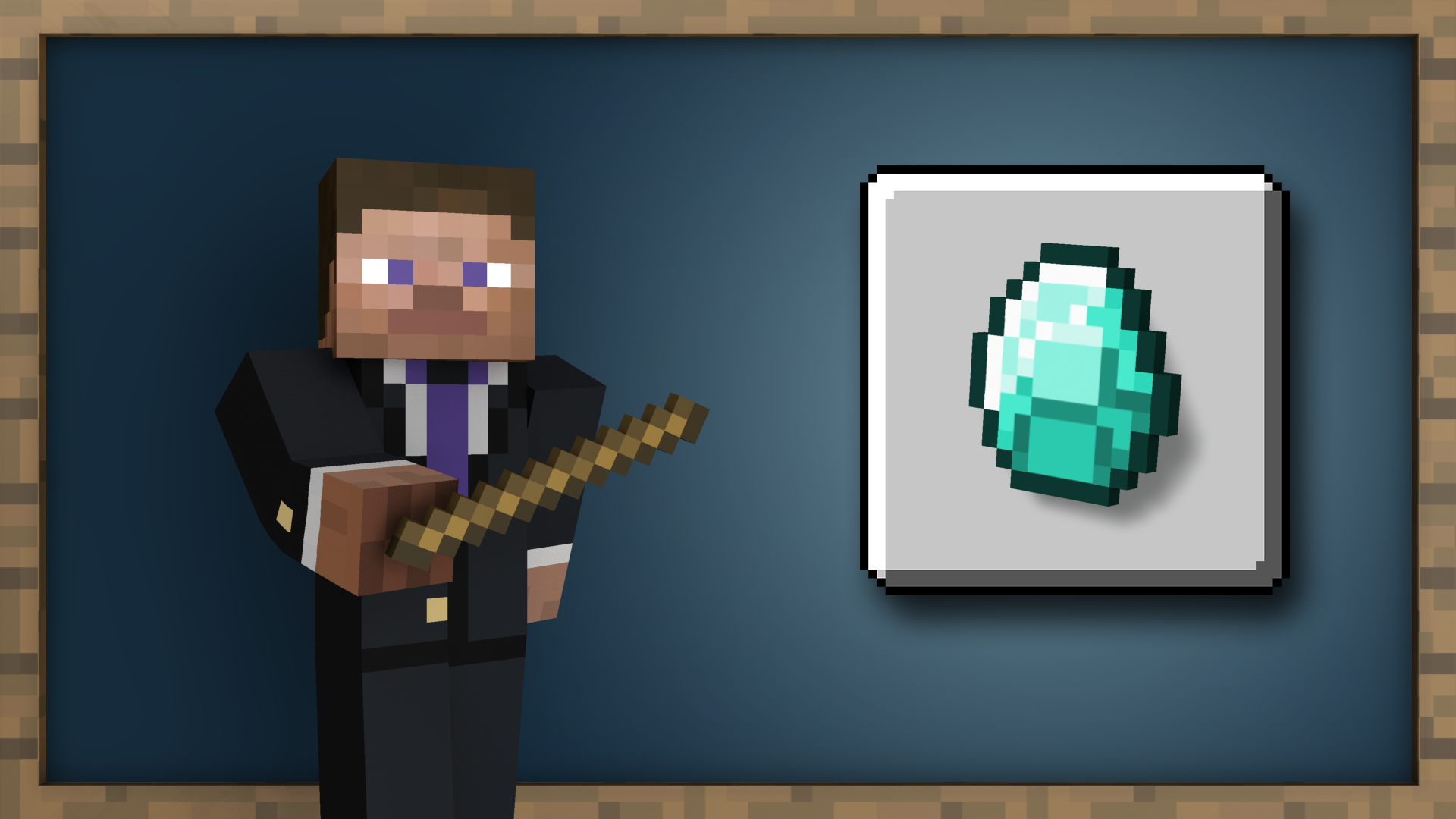 Diamonds to you! achievement for Minecraft on Nintendo Switch