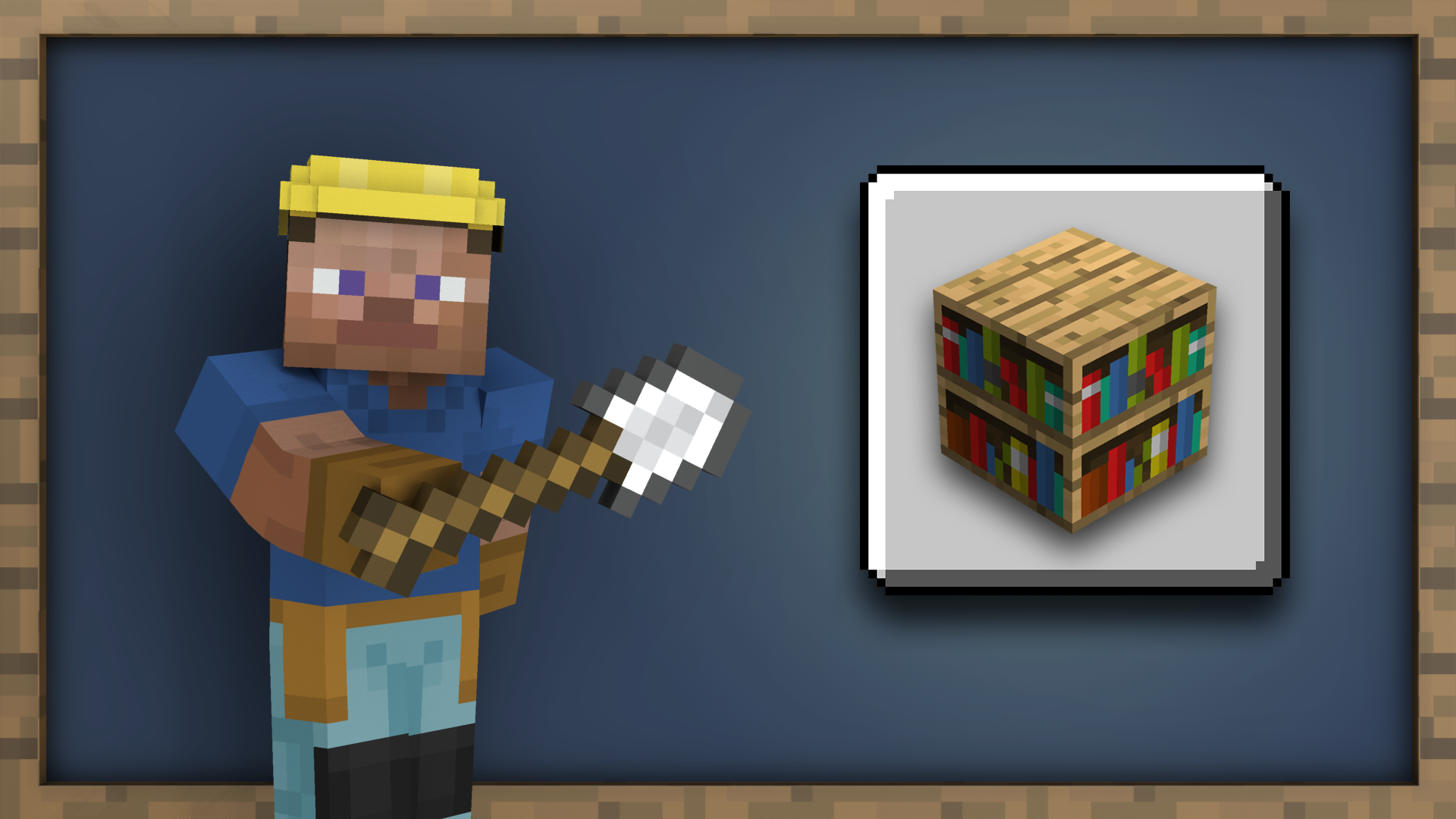 Librarian achievement for Minecraft on Nintendo Switch