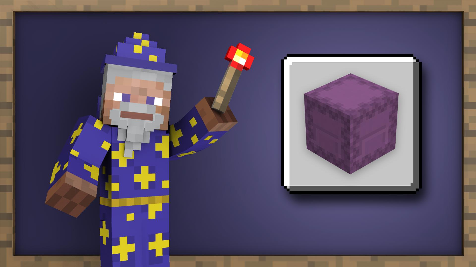 Organizational Wizard achievement for Minecraft on Nintendo Switch