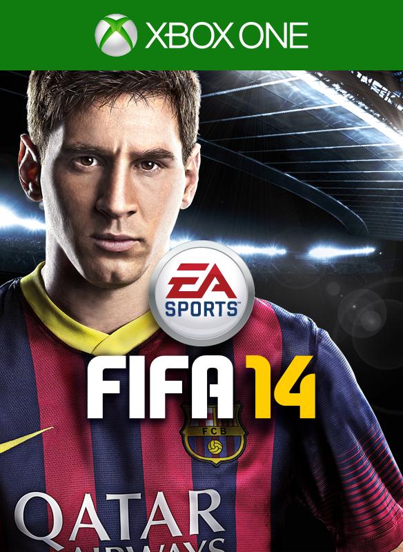 FIFA 14 box shot