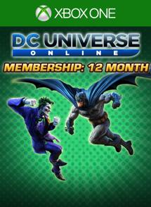 DCUO 12-Month Membership