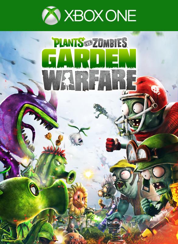 Plants vs. Zombies: Garden Warfare box shot