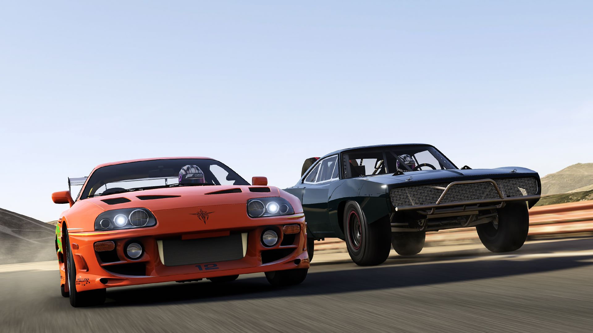 Muscle Car In Fast And Furious Game