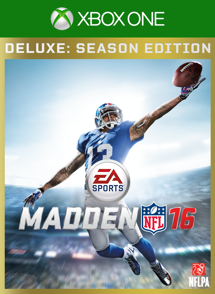 Madden NFL 16 Deluxe: Season Edition