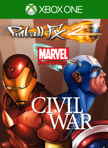 Pinball FX2 Civil War table