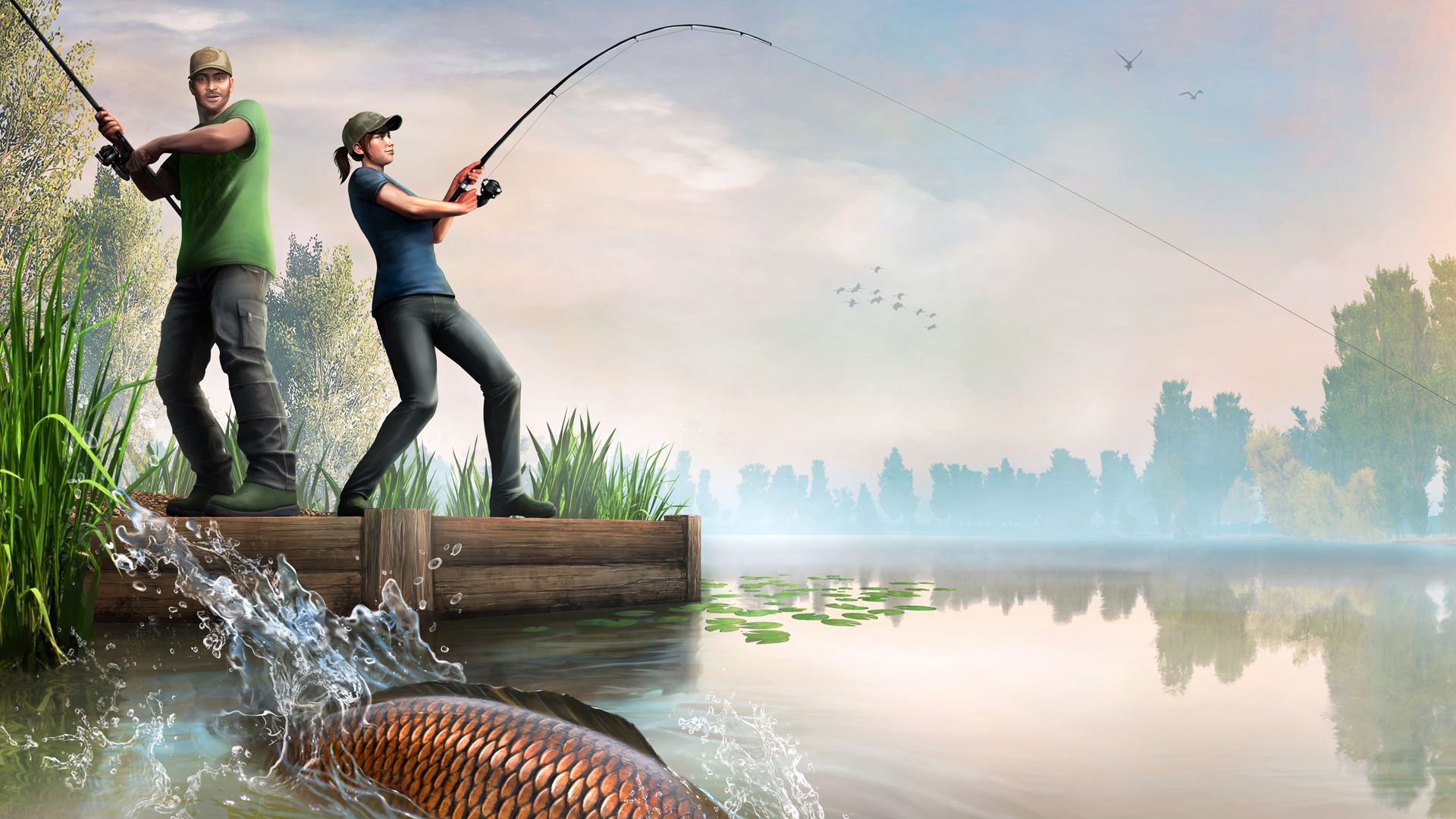 Dovetail games euro fishing for Fishing game xbox one