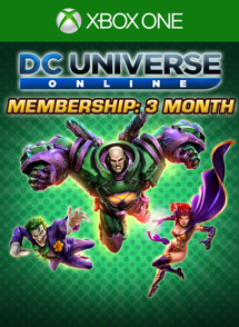 DCUO 3-Month Membership