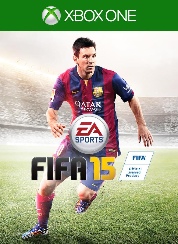 FIFA 15 box shot
