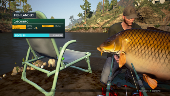 Hunting megladon dovetail games forums for Xbox one fishing games