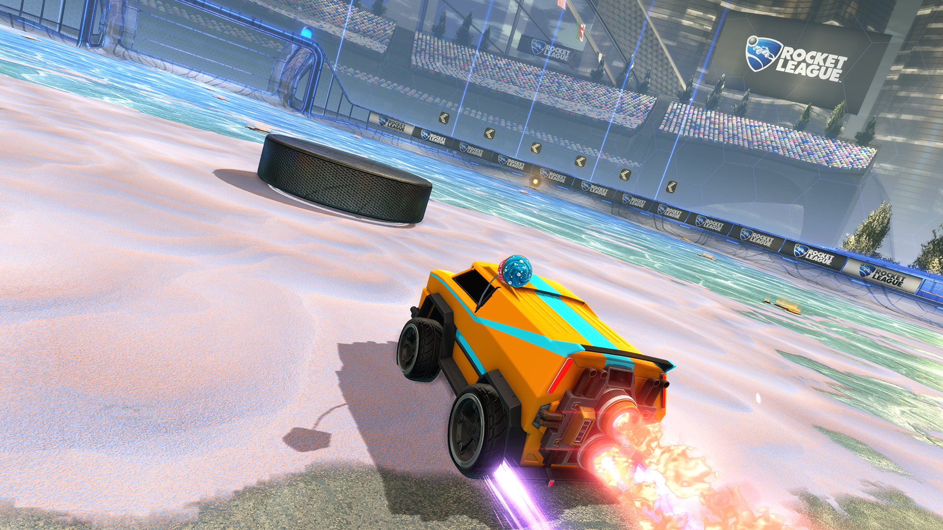 Rocket League Icing The Cake