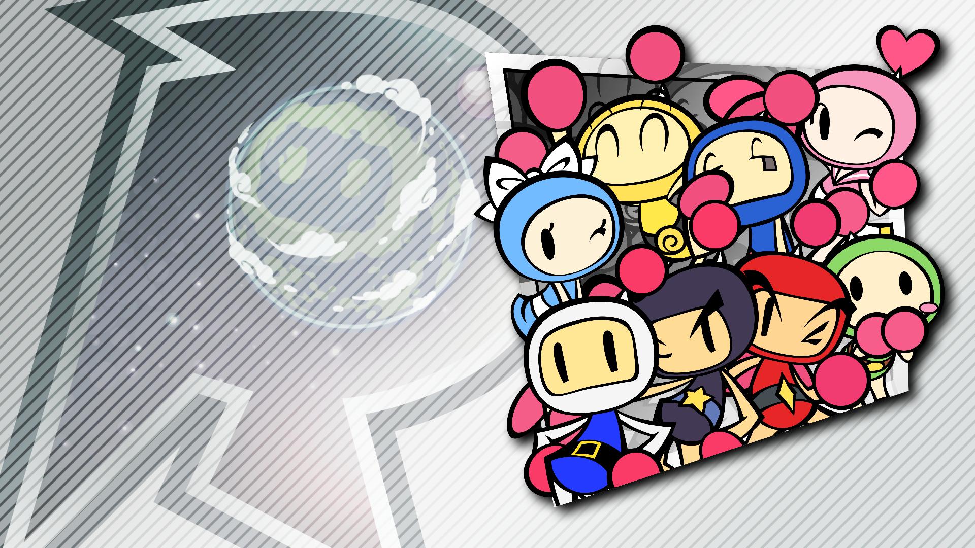 The Eight Bomberman Bros.