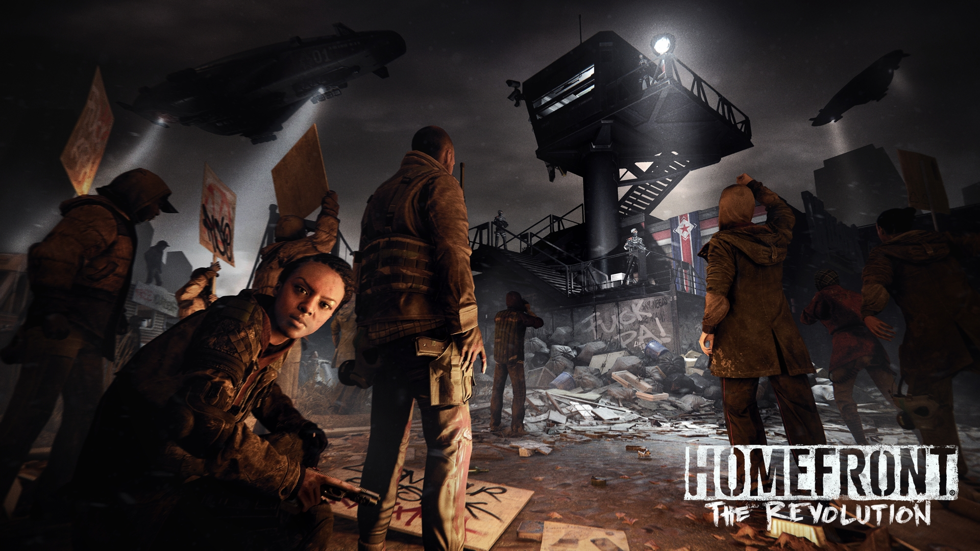 #Winning achievement for Homefront: The Revolution on Xbox One