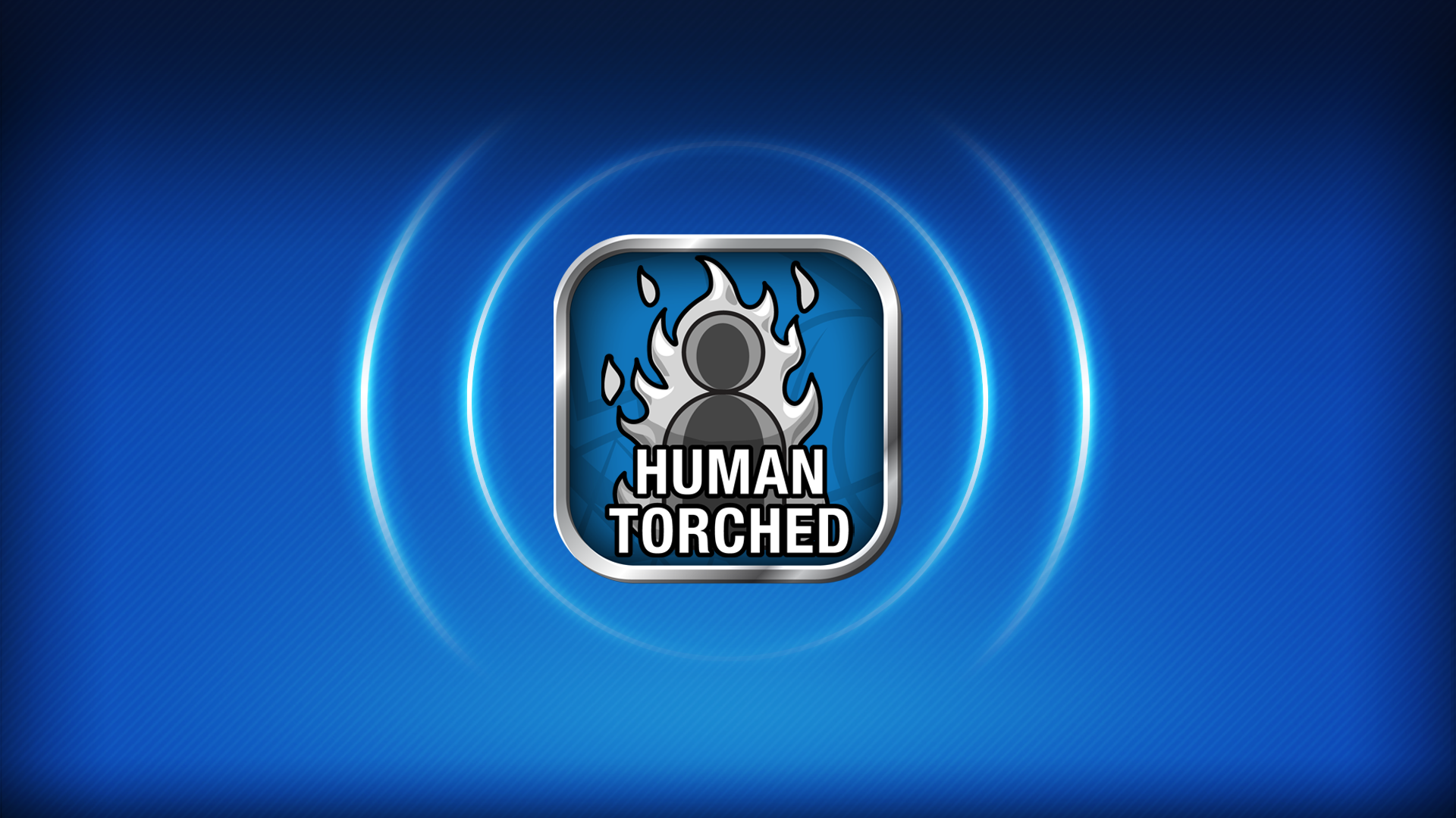 Human Torched