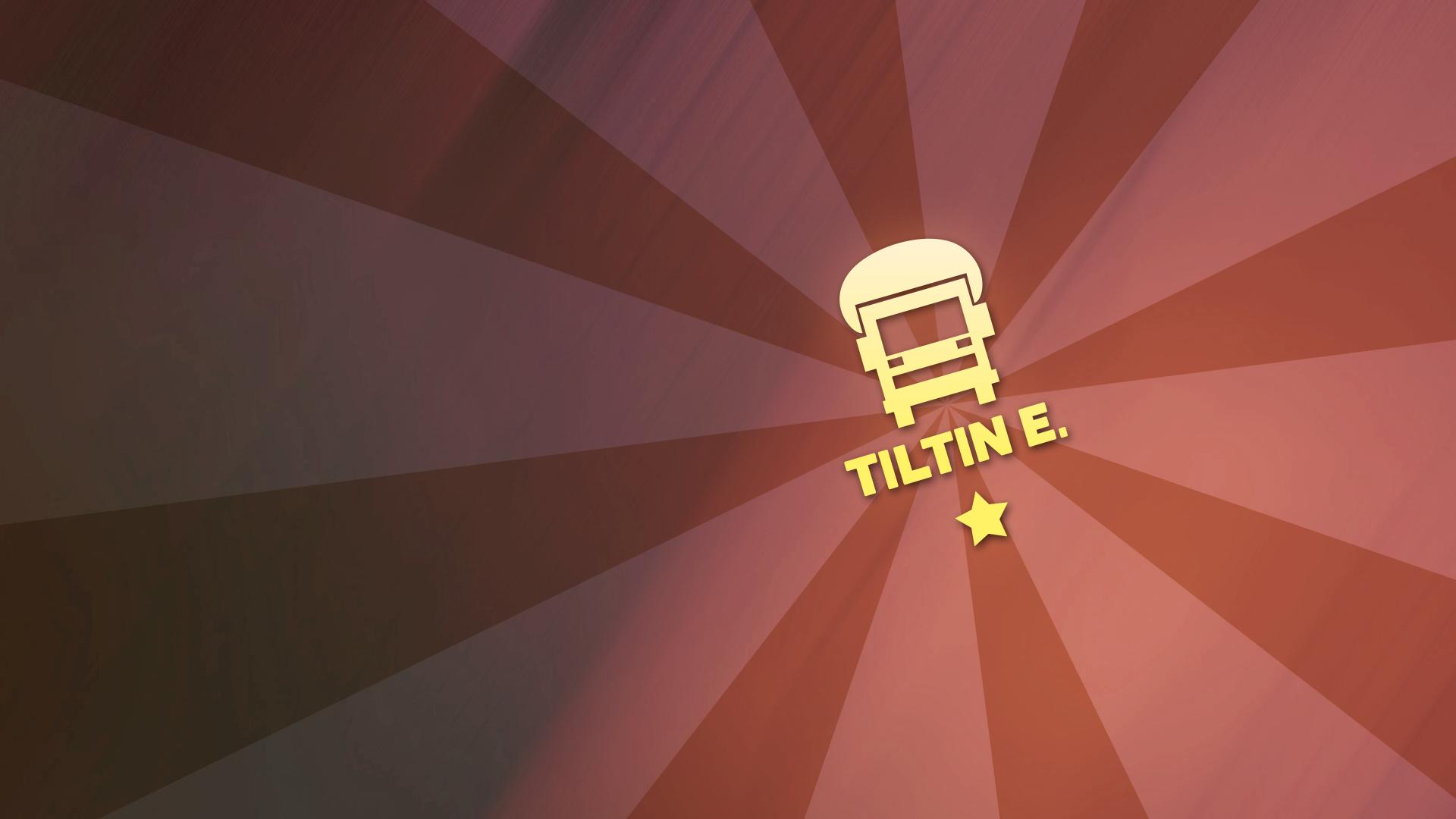 Tank truck insignia 'Tiltin East'