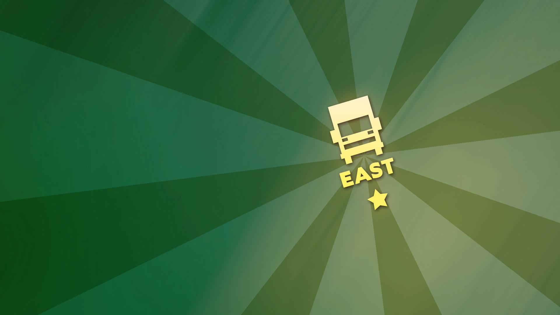 Truck insignia 'East'