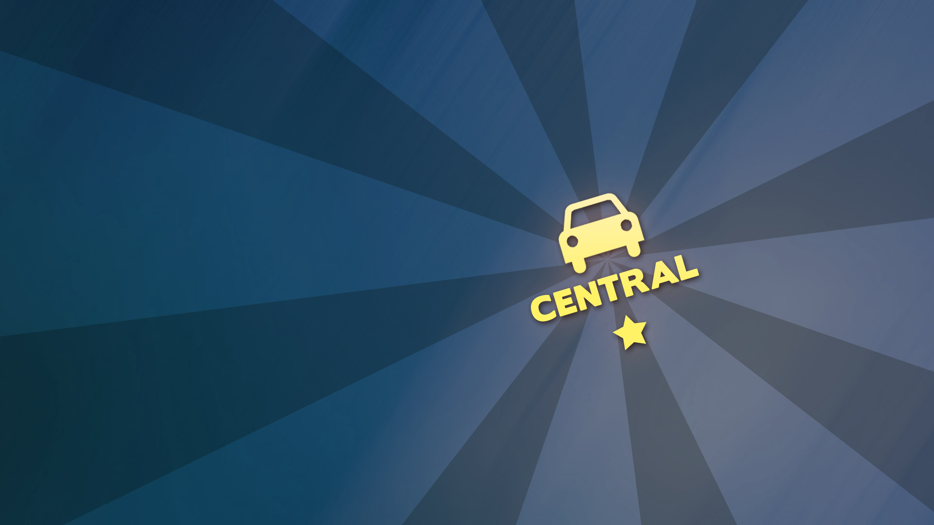 Car insignia 'Central'