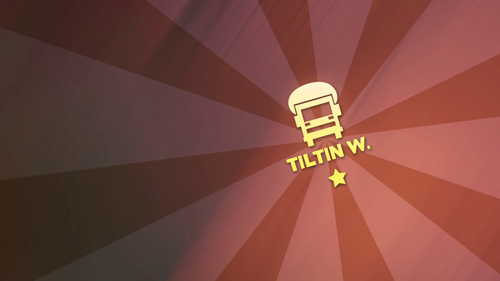 Tank truck insignia 'Tiltin West'