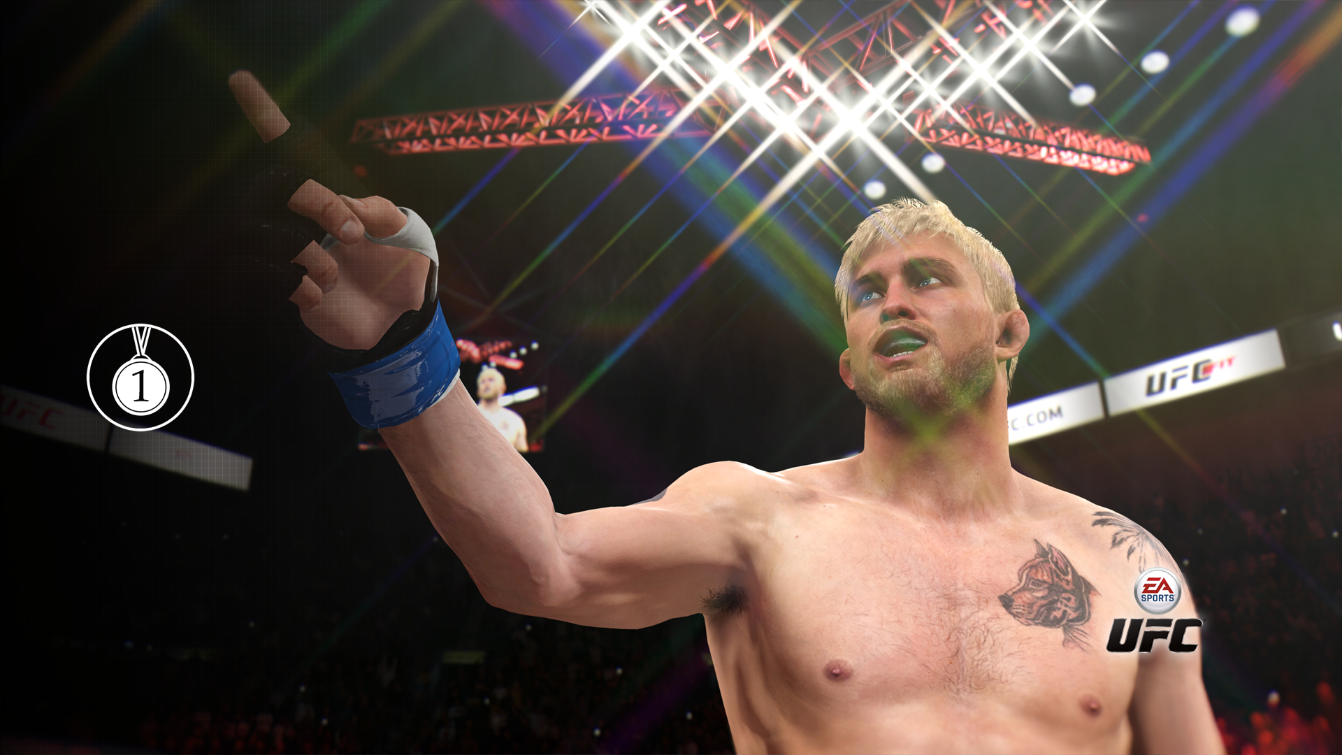 #1 Contender! achievement for EA SPORTS UFC on Xbox One