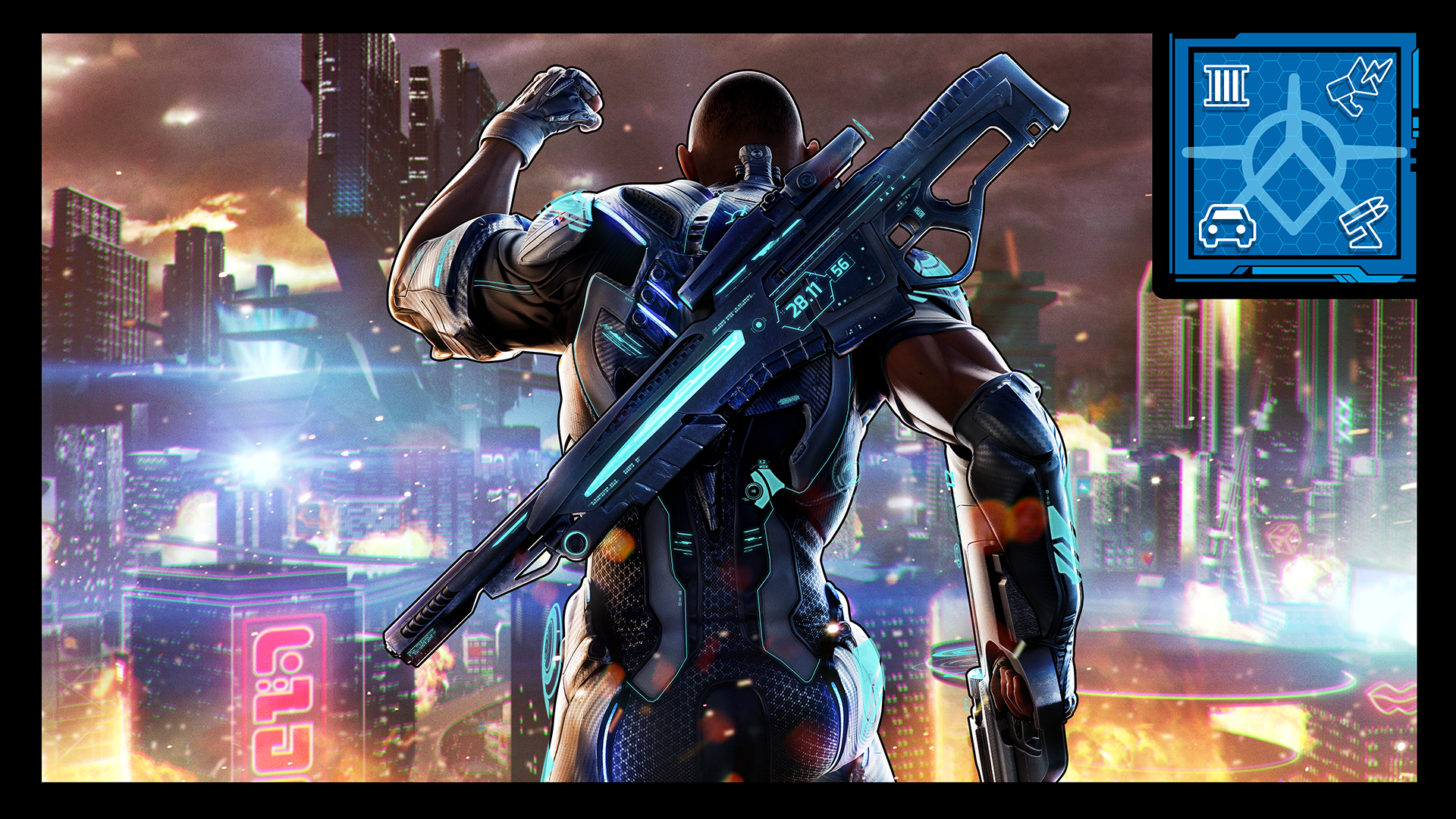 #AgentsFightBack achievement for Crackdown 3 on Xbox One
