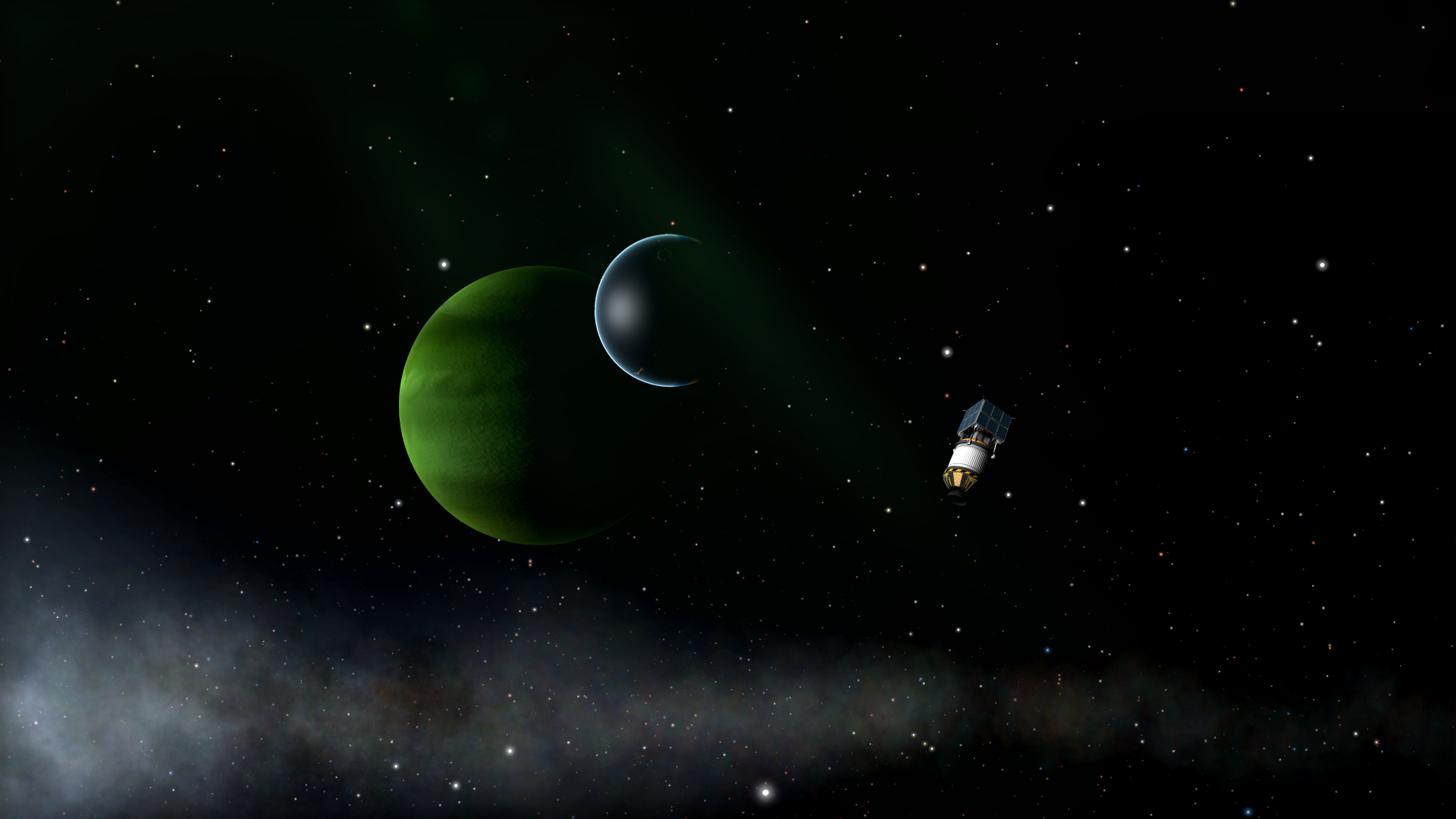 The Only Moon with a True Atmosphere Achievement in Kerbal ...