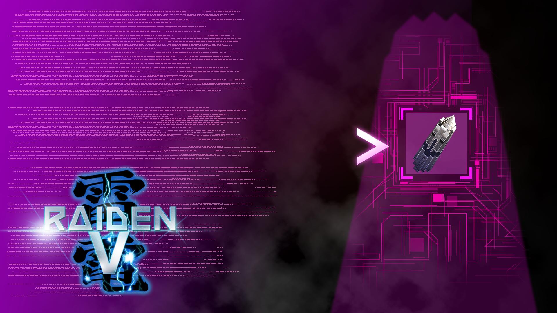 コンタクト achievement for Raiden V on Xbox One