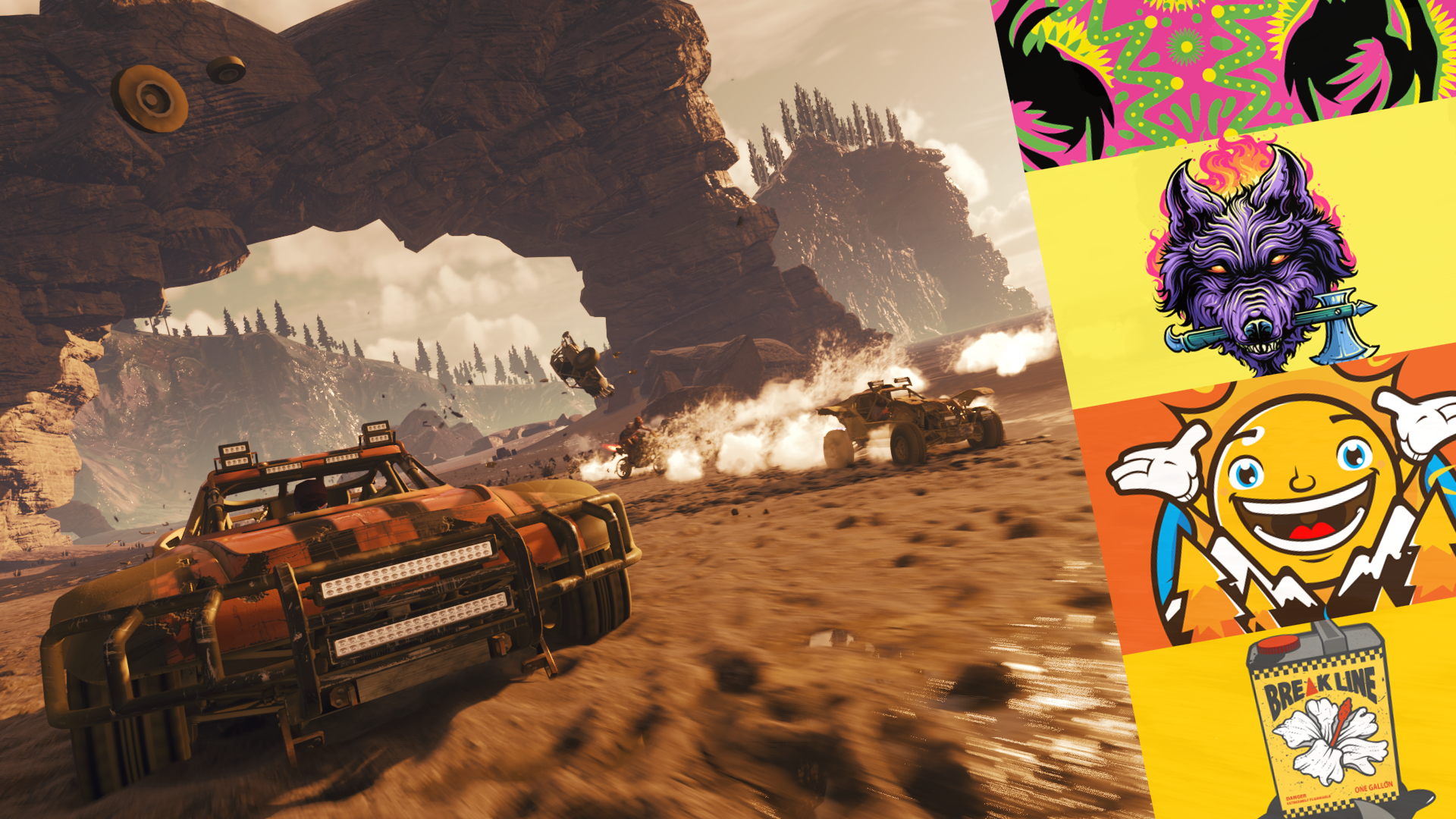 #Crashtag achievement for Onrush on Xbox One