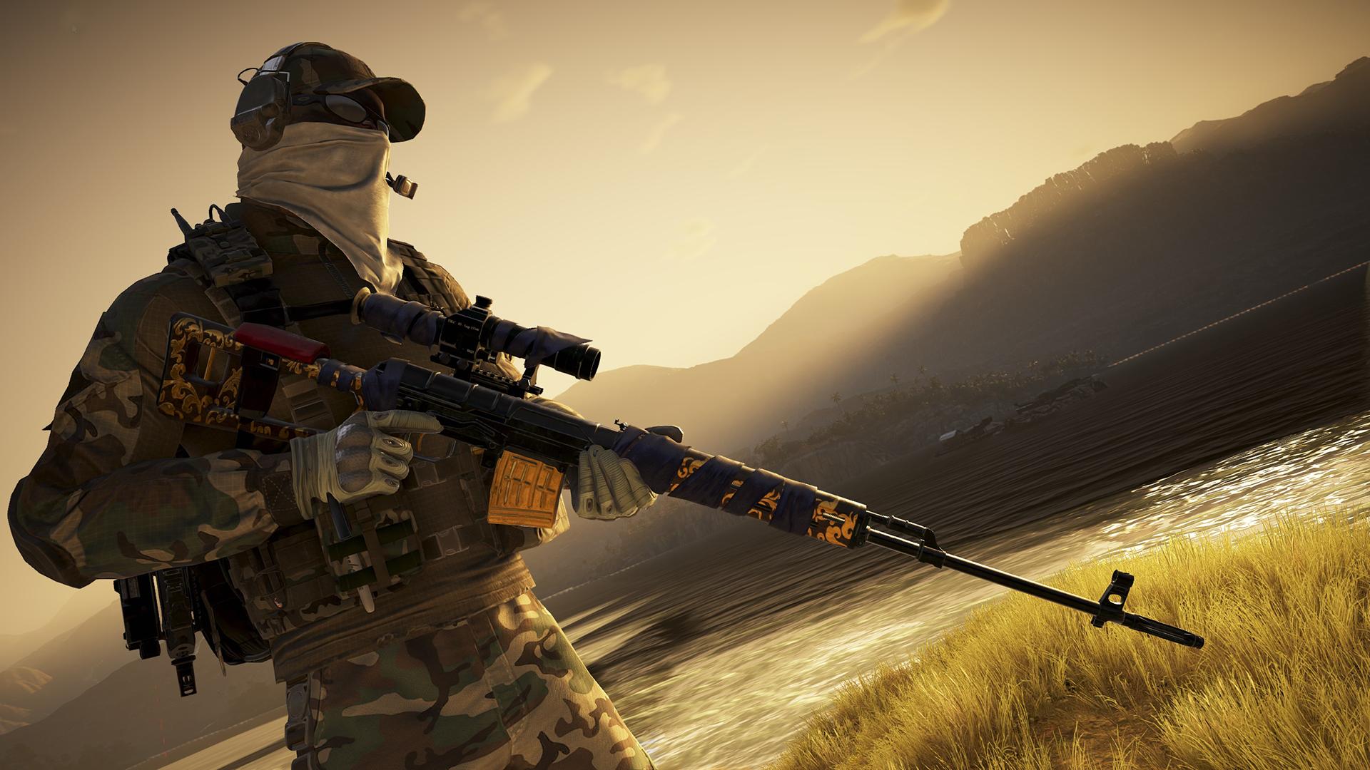 Sniper Rifle Fanatic