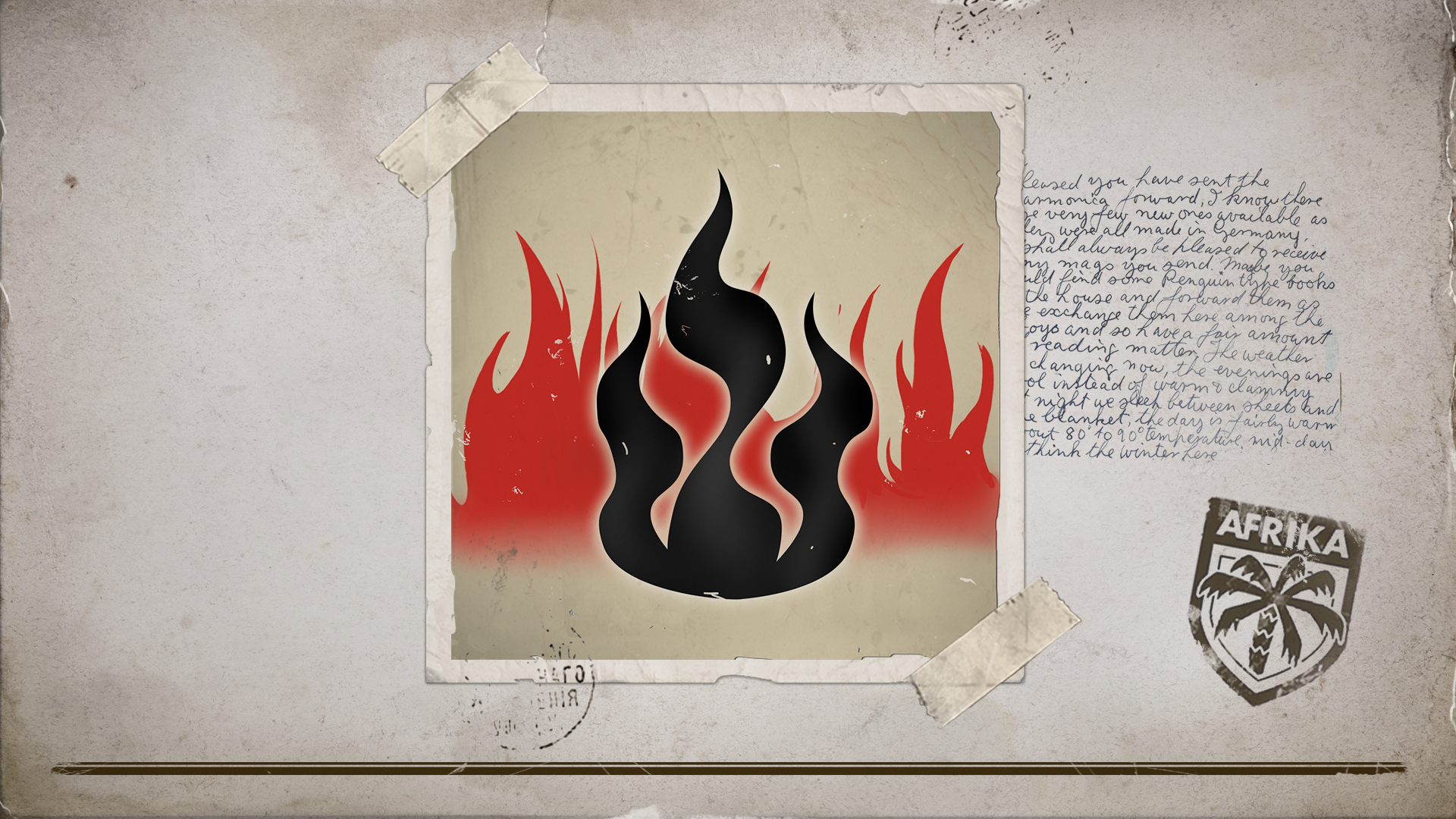 Through the fire …