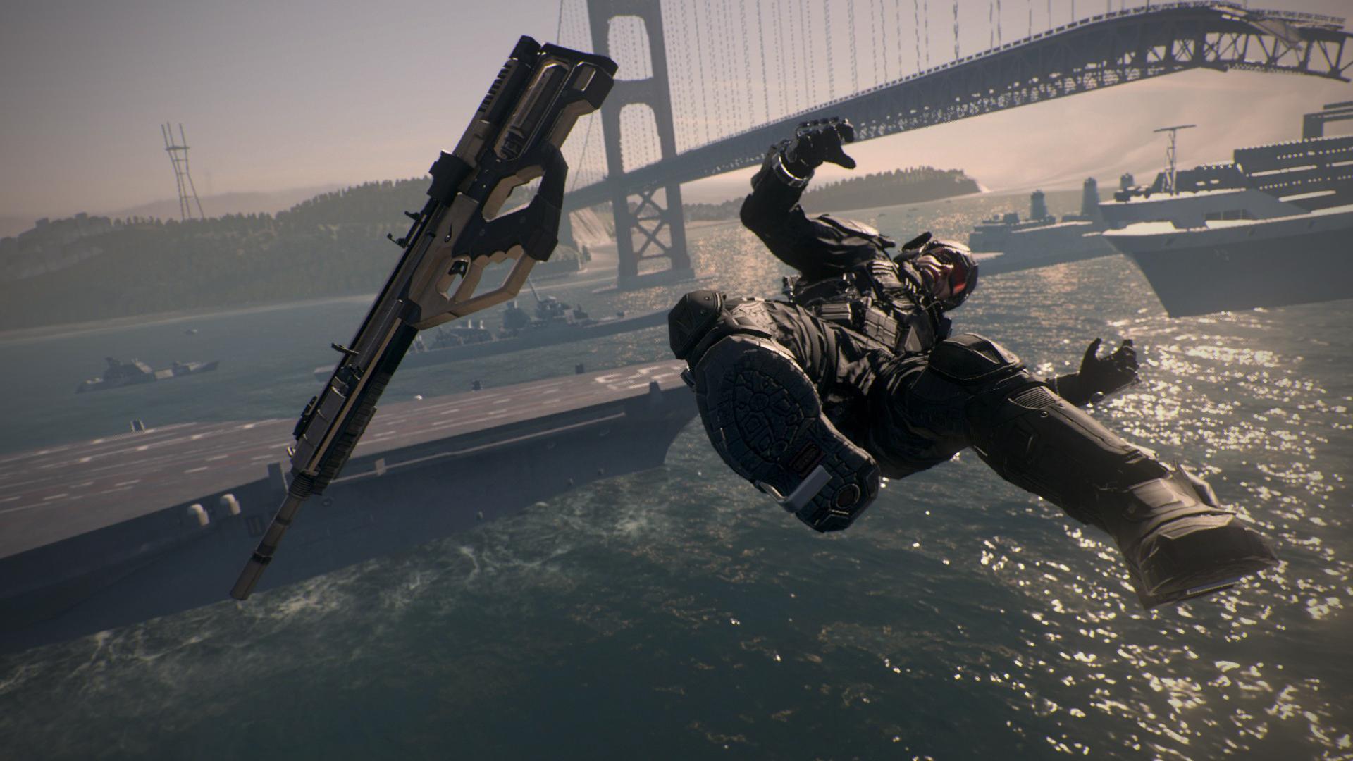 Man Overboard! Achievement in Call of Duty: Advanced Warfare