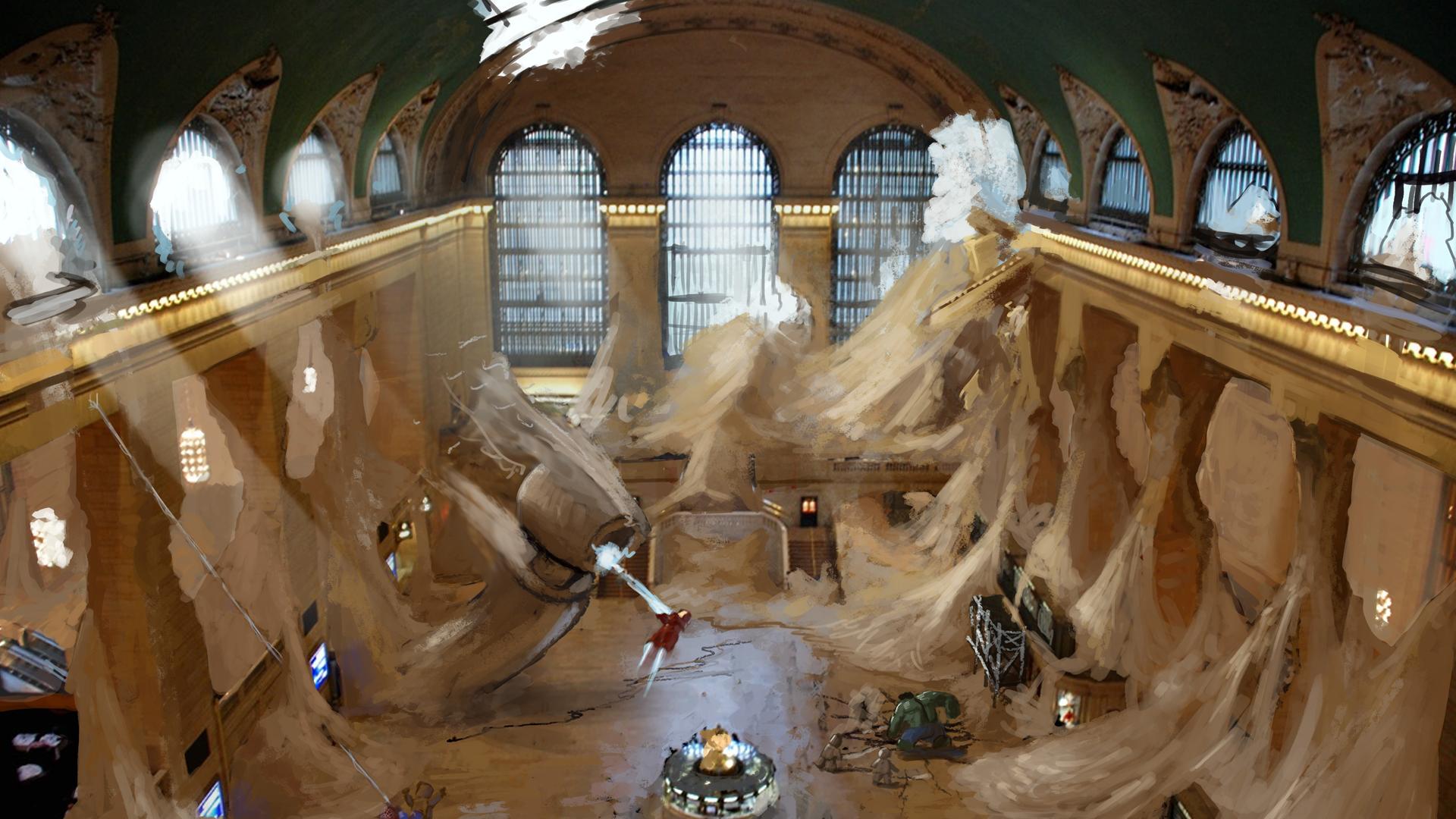 Sand Central Station